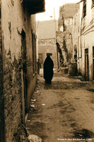 Woman In Alley