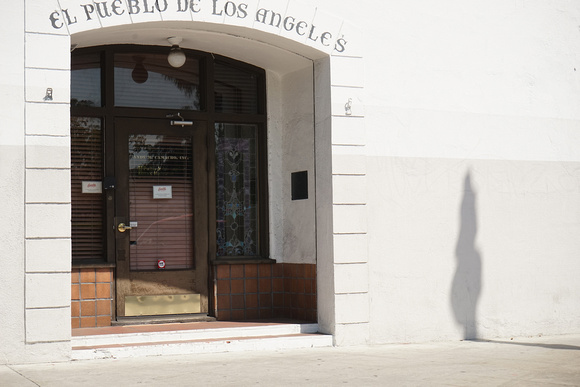 El Pueblo Los Angeles With Shadow