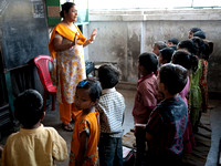 Calcutta Rescue School Class